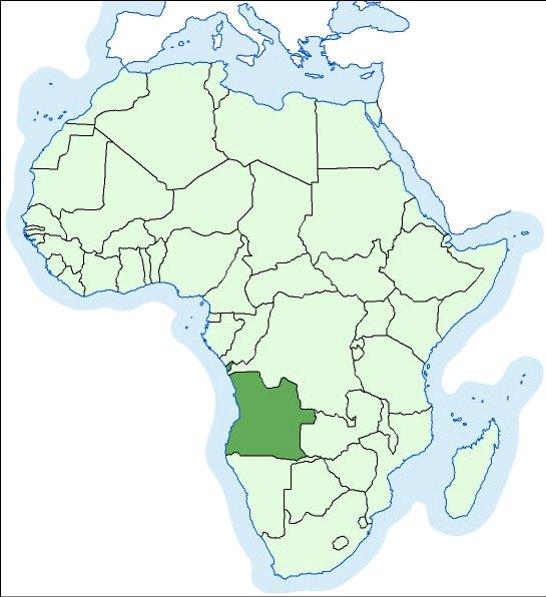 karta angola Angola | Hrvatska enciklopedija karta angola