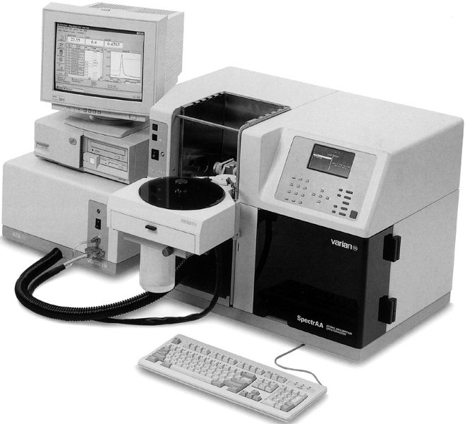 atomska spektrometrija | Hrvatska enciklopedija