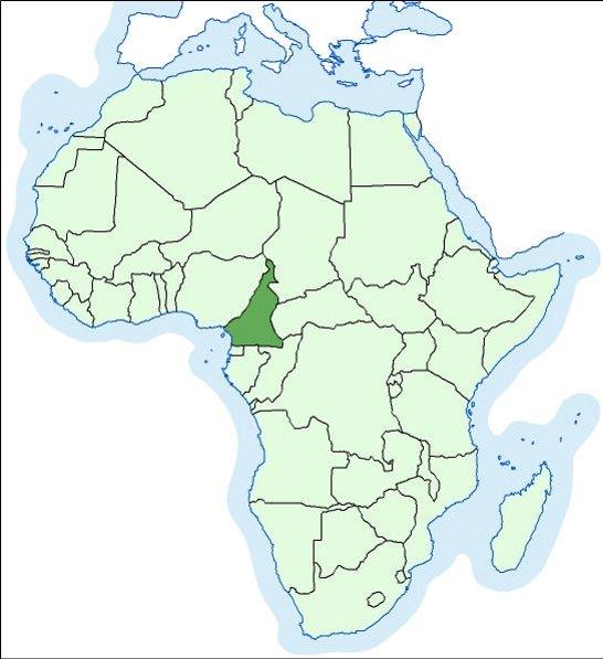 karta kamerun Kamerun | Hrvatska enciklopedija karta kamerun