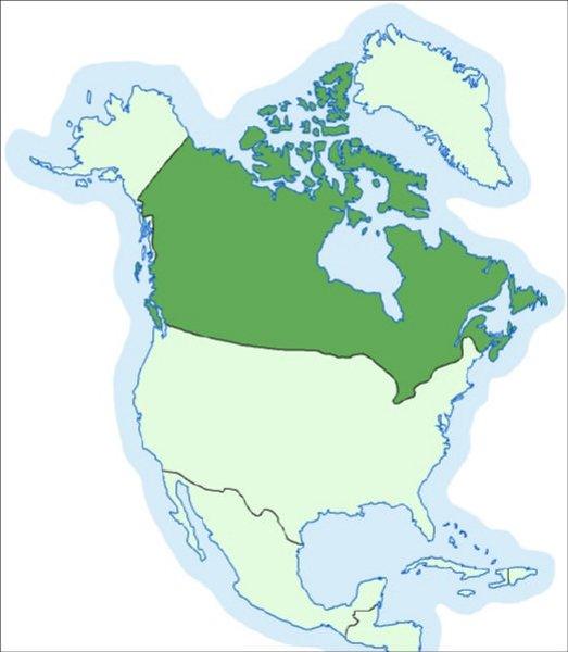 Kanada Karta Svijeta.Kanada Hrvatska Enciklopedija