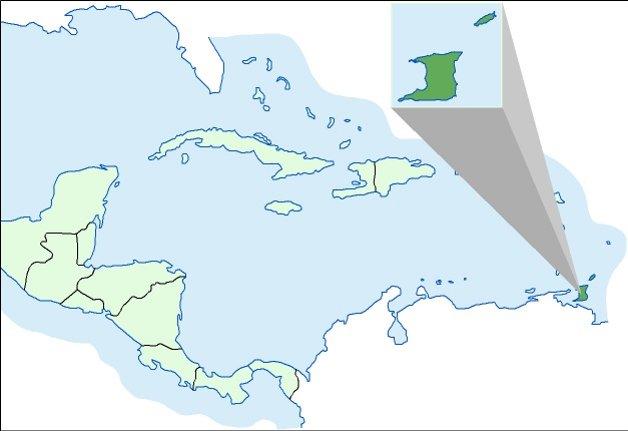 karta trinidad Trinidad i Tobago | Hrvatska enciklopedija karta trinidad